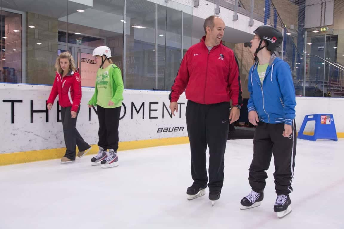 Accessibility at the National Ice Centre
