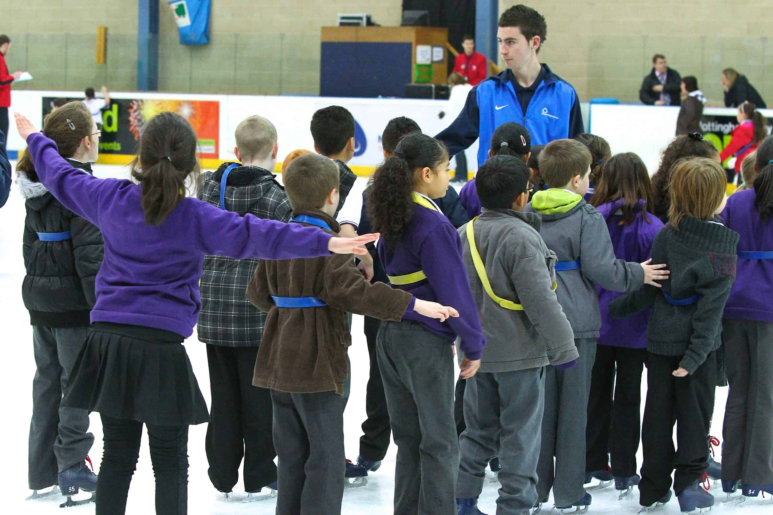 Schools Ice Skating at the National Ice Centre
