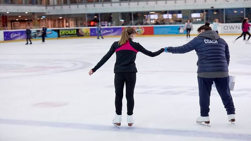 Learn to skate at the National Ice Centre