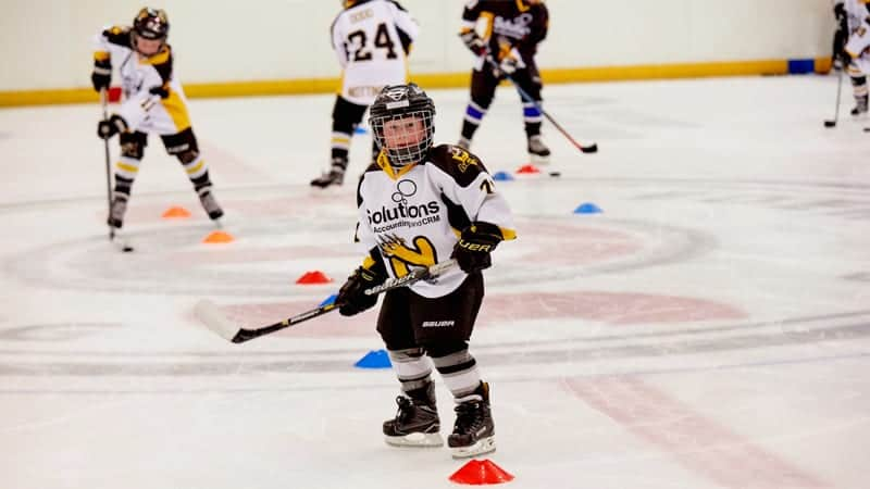 Junior hockey days at the National Ice Centre