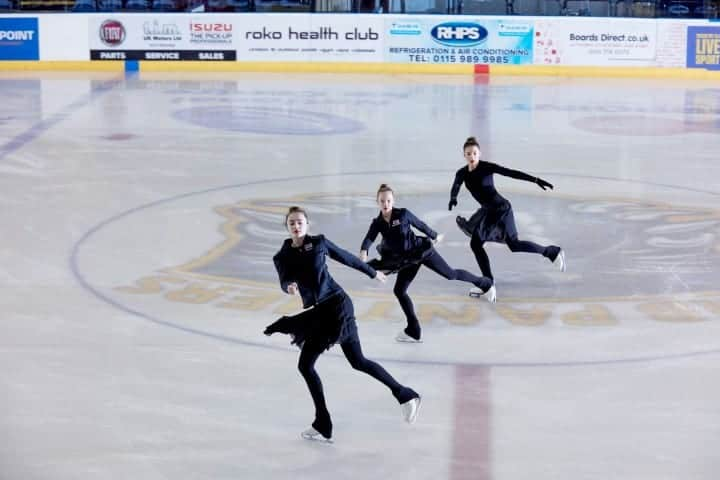 Synchronized Skating at the National Ice Centre