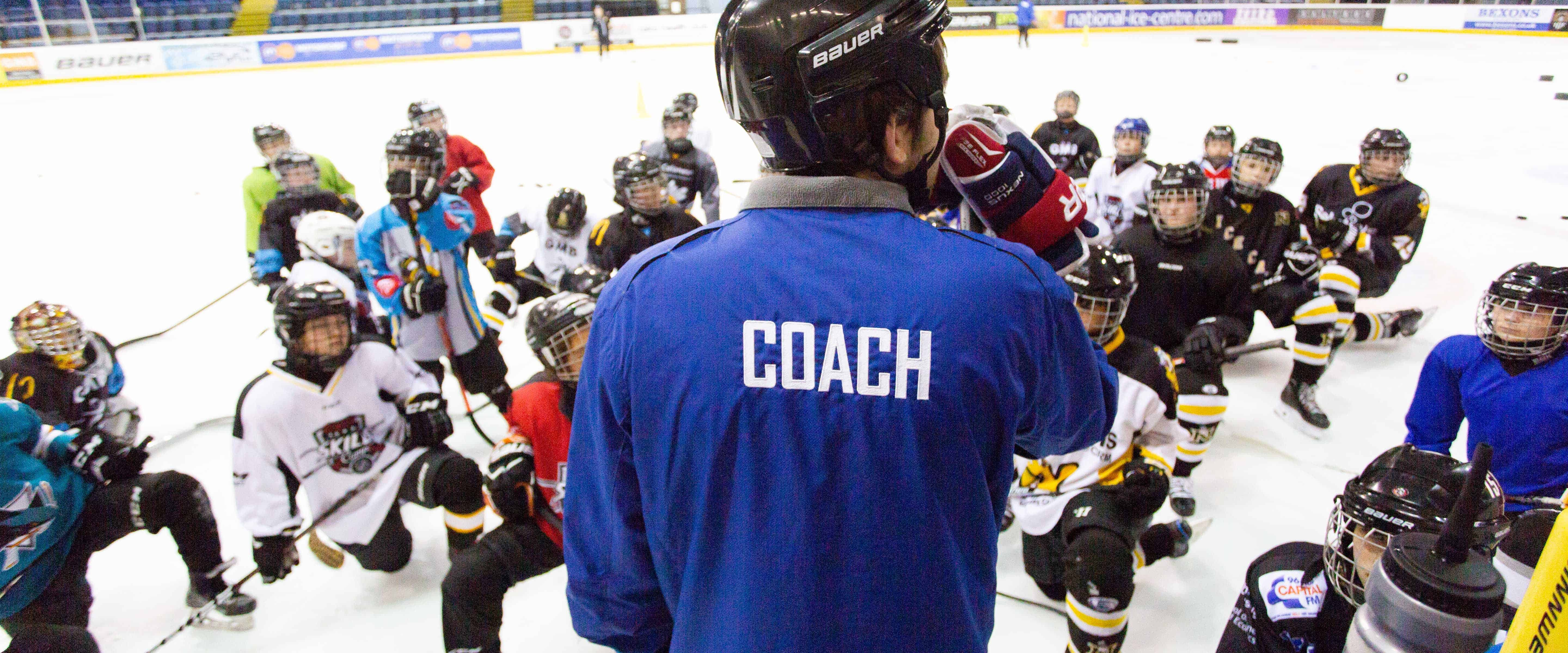 Junior Ice Hockey Clinic at the National Ice Centre