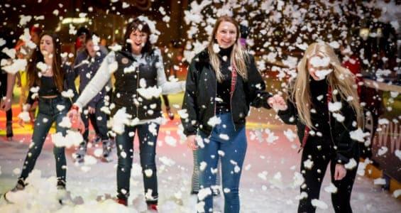 Christmas Foam Parties