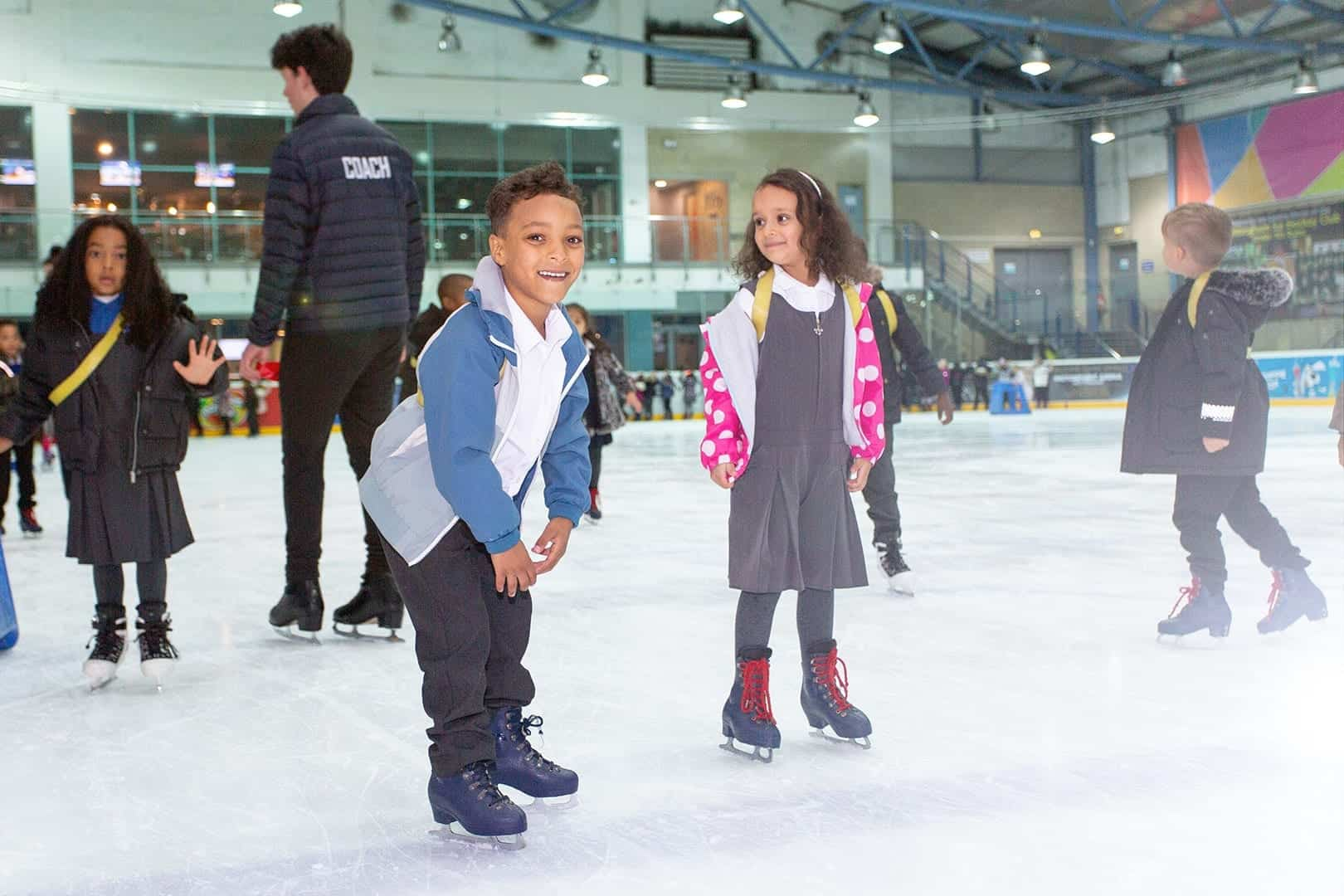 Christmas Skating for Schools