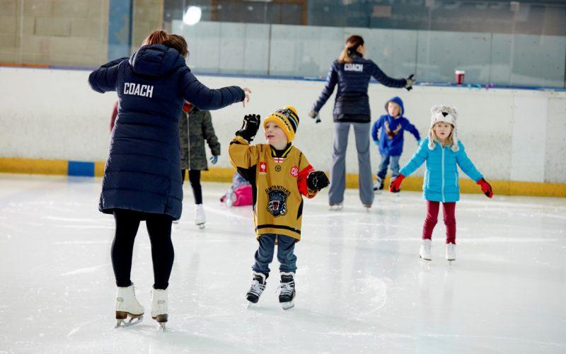 tots skating lessons