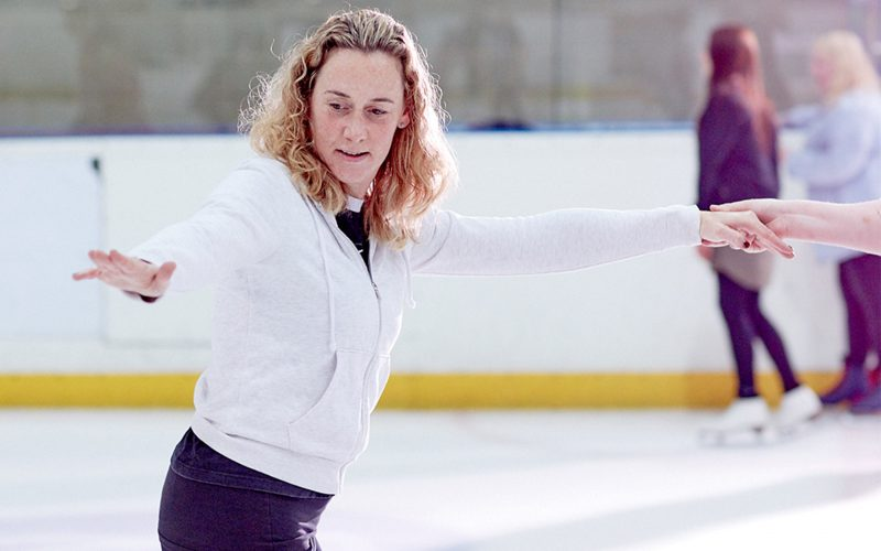 adult figure and dance class at the National Ice Centre